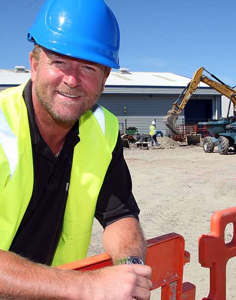 Mark Blackwell DU Construction Anglesey